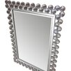 Crown Home Décor Modern Rectangle Wall Mirror