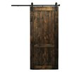 Dogberry Collections Country Vintage Barn Door without Hardware