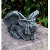 Ladybug Garden Decor Thinking Gargoyle Statue