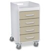 TrippNT 4 Drawer File Storage Cart