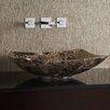 Ryvyr Rectangular Marble Vessel Bathroom Sink