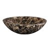 Ryvyr Round Marble Vessel Bathroom Sink
