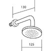 Francis Pegler Fixed Shower Head