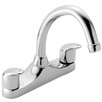 Francis Pegler Haze Double Handle Surface Mounted Monobloc Mixer Tap