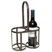 Ambiente Haus Weinflaschenhalter für 2 Fl.