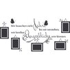 "Graz Design ""Augenblicke"" Wall Sticker - 57 x 120 cm"
