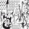 Graz Design Sheet Music Wall Sticker Set