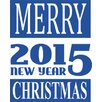 Graz Design Merry Christmas, New Year Wall Sticker