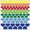 Graz Design Hearts Wall Sticker Set