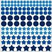 Graz Design Wandsticker-Set Punkte und Sterne