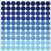Graz Design Polka Dots Wall Sticker Set