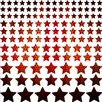 Graz Design Stars, Dots Wall Sticker Set