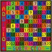 Flagship Carpets Addition and Subtraction Kids Rug