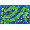 Flagship Carpets Counting Caterpillar Kids Rug