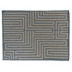 Rug Expressions Flat Weave Sky/Beige Area Rug