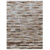 Rug Expressions Natural Hide Beige Area Rug