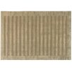 Rug Expressions Panel Stripes Dark Beige Area Rug