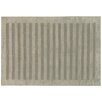 Rug Expressions Panel Stripes Dark Gray Area Rug