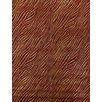 Rug Expressions Modern Wilderness Red/Gold Area Rug