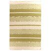 Rug Expressions Soft Flat Weave Green Area Rug