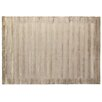 Rug Expressions Panel Stripes Taupe Area Rug