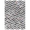 Rug Expressions Natural Hide White/Gray Area Rug