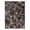Rug Expressions Natural Hide Gray Area Rug
