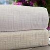Maison International Luxury Bamboo Rayon Cotton Weave Blanket