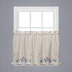 Saturday Knight, LTD Seabreeze Tier Curtain (Set of 2)