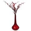 EC World Imports Casa Cortes Flare Decorative Ceramic Vase