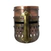 EC World Imports Antique Replica Medieval Armor Pot Helmet