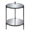 EC World Imports Urban Designs End Table with Shelf