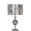 "EC World Imports Casa Cortes Malibu 22"" H Table Lamp with Drum Shade"