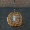 Emporio Arts Moroccan 1 Light Globe Pendant
