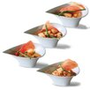 Linen Depot Direct Sandra Venditti Porcelain Appetizer Plate (Set of 4)