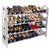 Linen Depot Direct 4-Tier Shoe Rack