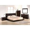 J&M Furniture Knotch Platform Customizable Bedroom Set