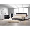 J&M Furniture Turin Panel Customizable Bedroom Set