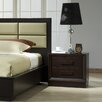 J&M Furniture Boston 2 Drawer Nightstand