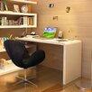 J&M Furniture Modern Computer Desk with Hutch