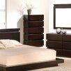 J&M Furniture Knotch 5 Drawer Chest