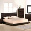 J&M Furniture Knotch Panel Bed