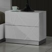 J&M Furniture Naples 2 Drawer Nightstand