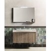 J&M Furniture Single Composition 5 Premium Bathroom Vanity Set with Mirror