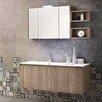 J&M Furniture Single Composition 12 Premium Bathroom Vanity Set with Mirror
