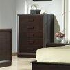 J&M Furniture Boston 5 Drawer Lingerie Chest