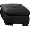 J&M Furniture Italian Leather Ottoman