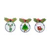 Fantastic Craft Holly Ornament (Set of 3)