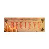 Fantastic Craft Led Plaque Believe
