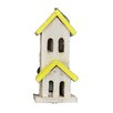 21 inch x 9 inch x 6 inch Birdhouse - Color: Yellow - Fantastic Craft Birdhouses